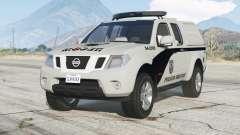 Nissan Frontier Crew Cab (D40) 2012〡PMERJ for GTA 5