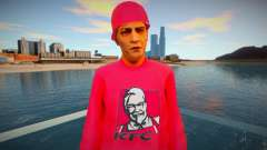 The guy in the red jacket for GTA San Andreas