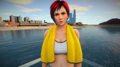 Mila with a towel from Dead or Alive for GTA San Andreas