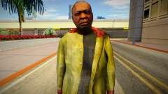 Homeless man from GTA 5 v4 for GTA San Andreas