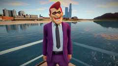 Guy in a fun mask from GTA Online for GTA San Andreas