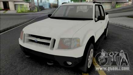 Ford Explorer Sport Trac 2002 (Lifted) for GTA San Andreas