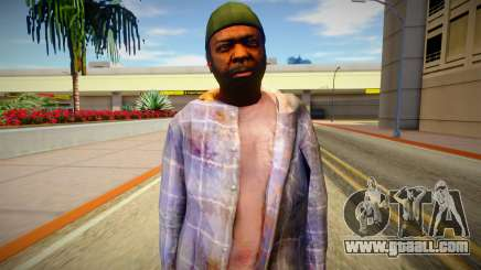Homeless man from GTA 5 v2 for GTA San Andreas