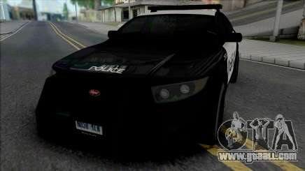 Vapid Torrence Police Los Santos for GTA San Andreas