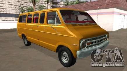Dodge Sportsman B200 1972 Bus v2 for GTA San Andreas