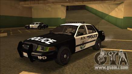 Ford Crown Victoria - Police (NFS Most Wanted) for GTA San Andreas