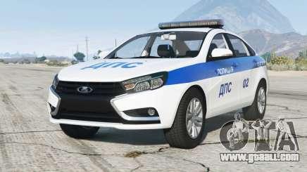 Lada Vesta (GFL) 2015〡DPS for GTA 5