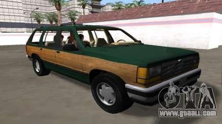 Ford Explorer 1994 Woodside for GTA San Andreas
