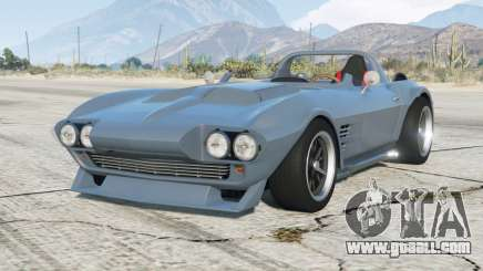 Chevrolet Corvette Grand Sport (C2) 1963〡Fast & Furious Edition〡add-on for GTA 5