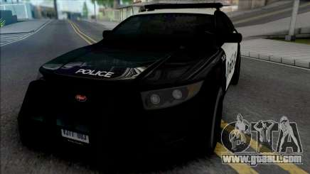 Vapid Torrence Police San Fierro for GTA San Andreas