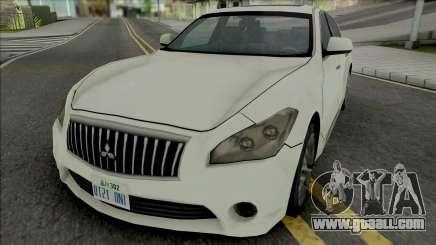 Mitsubishi Dignity 2012 (SA Style) for GTA San Andreas
