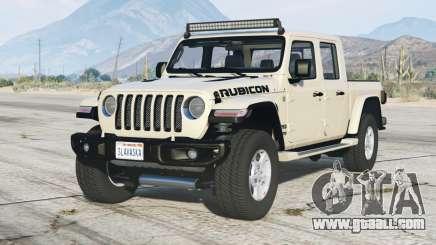 Jeep Gladiator Rubicon (JT) 2020〡add-on v1.1 for GTA 5