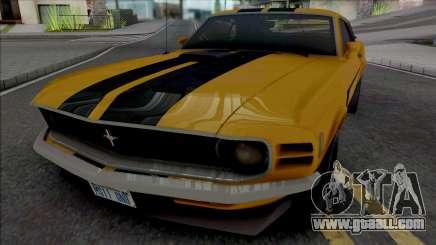 Ford Mustang Boss 302 1970 for GTA San Andreas