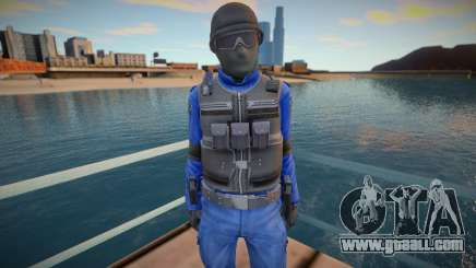 New swat (good model) for GTA San Andreas