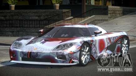 Koenigsegg CCX GST-R S4 for GTA 4