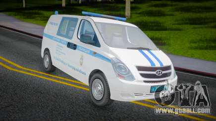 Hyundai H-1 Starex Police of the Russian Interior Ministry for GTA San Andreas