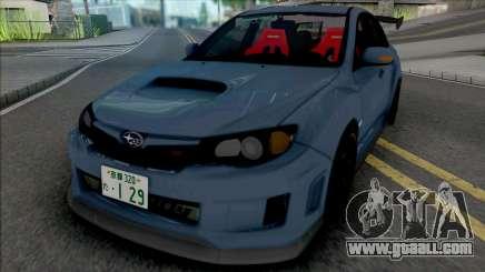 Subaru Impreza WRX STi [IVF] for GTA San Andreas