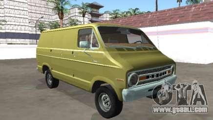 Dodge Tradesman 200 1972 Van for GTA San Andreas