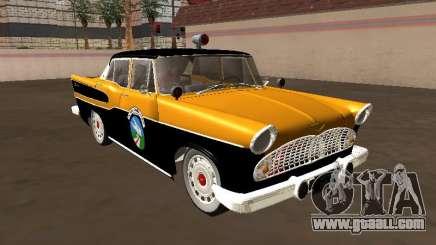 Simca Chambord 1957 Road Watchman for GTA San Andreas