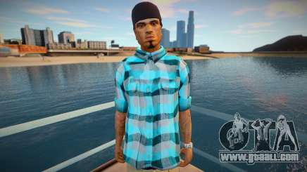 Cesar shirt style for GTA San Andreas