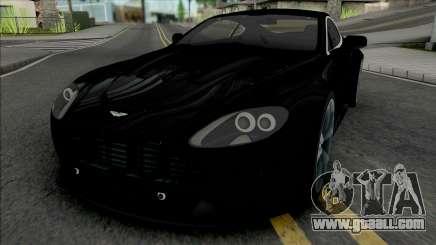 Aston Martin V12 Vantage (NFS Most Wanted) for GTA San Andreas