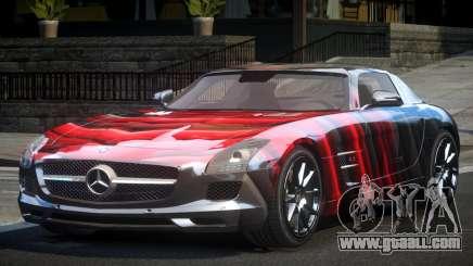 Mercedes-Benz SLS GS-U S3 for GTA 4