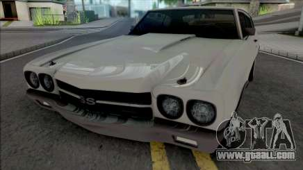 Chevrolet Chevelle SS 1970 [HQ] for GTA San Andreas