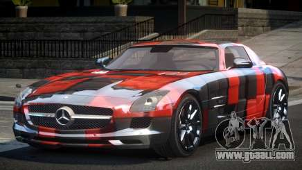 Mercedes-Benz SLS GS-U S7 for GTA 4