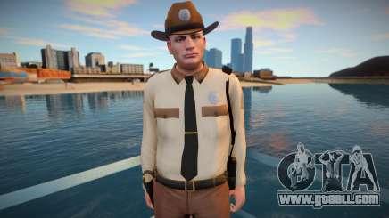 Hitman Sheriff: Absolution for GTA San Andreas