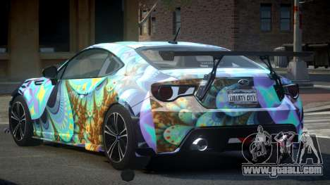 Subaru BRZ SP-U S7 for GTA 4