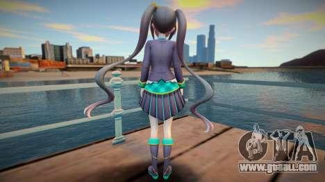 Neptunia Virtual Stars GTA SA skin v3 for GTA San Andreas