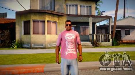 New T-Shirt - tshirtmaddgrey for GTA San Andreas
