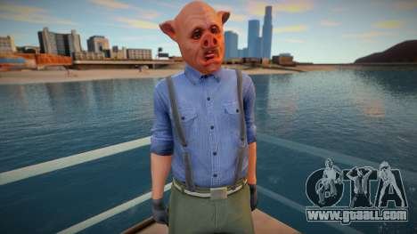 Pig mask ped for GTA San Andreas