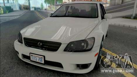 Lexus IS300 (SA Lights) for GTA San Andreas