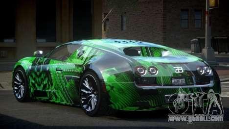 Bugatti Veyron PSI-R S7 for GTA 4