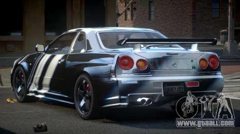 Nissan Skyline R34 PSI-U S7 for GTA 4