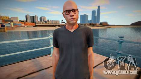 Bald dude from GTA Online for GTA San Andreas