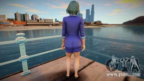 DOAXVV Tamaki - Secret Repor v1 for GTA San Andreas