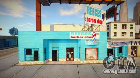 Retexturing the barbershop in Idlewood for GTA San Andreas