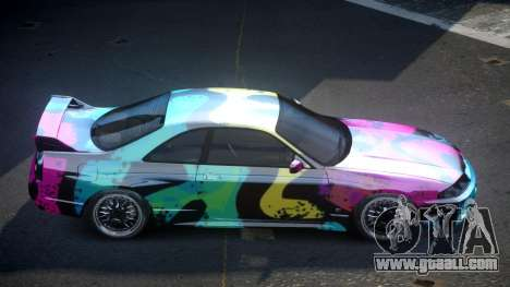 Nissan Skyline R33 US S1 for GTA 4