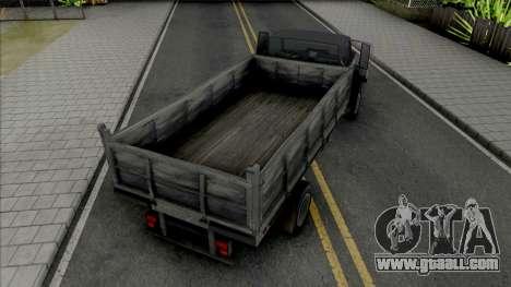 GTA IV Vapid Yankee Bed for GTA San Andreas