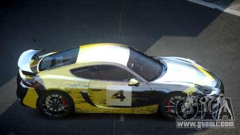 Porsche 718 Cayman GT4 S5 for GTA 4