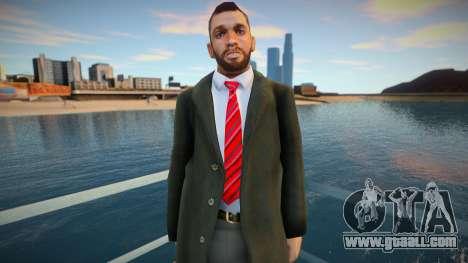 American in Coat 3 for GTA San Andreas
