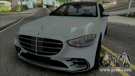 Mercedes-Benz S500 2021 for GTA San Andreas