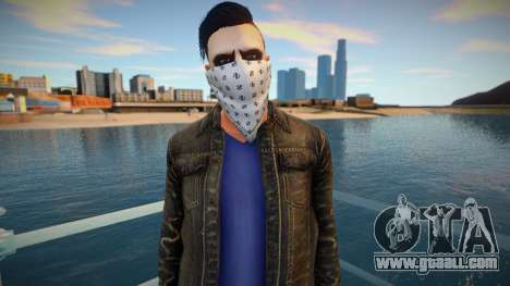 Light facial handkerchief ped for GTA San Andreas