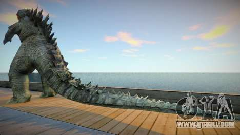 Godzilla 2014 skin for GTA San Andreas