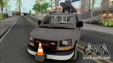 GMC Savana 2500 Utilty Van for GTA San Andreas