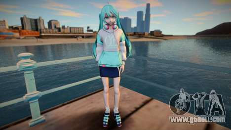 Music Cafe Miku Hatsune for GTA San Andreas