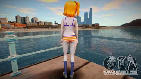 Kousaka Honoka - Love Live - Bikini for GTA San Andreas