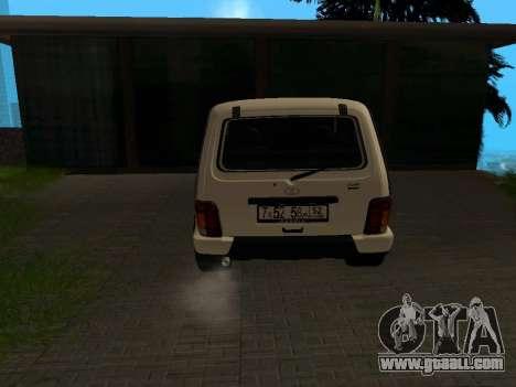 Lada Urban 4x4 for GTA San Andreas